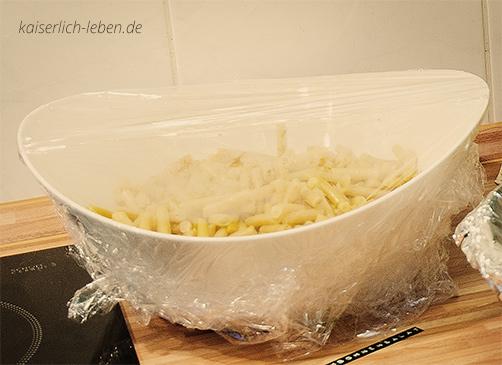 Wachsbrechbohnensalat