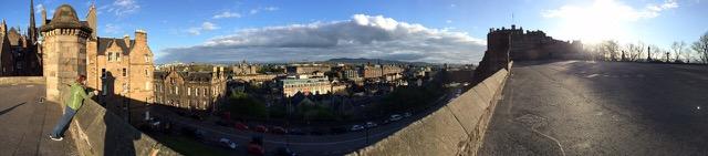Edinburgh Schloss_Aussicht